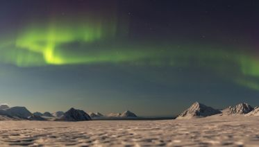 East Greenland and Iceland Northern Lights