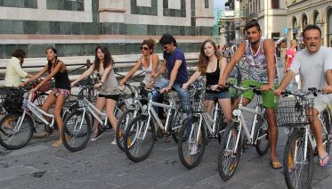 Electric Bike Tour of Florence from Pisa