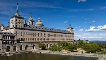 Escorial & Valley Of The Fallen From Madrid