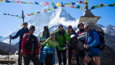 Everest Base Camp and Three Passes Trek