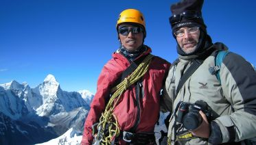 Everest Base camp trek with Island Peak climbing