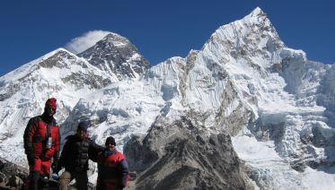 Everest Base Camp With Island Peak