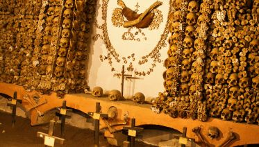 Exclusive Catacombs After Closing & Bone Chapel Tour