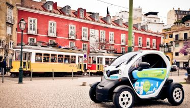 Explore Tram 28 In Your Own Two-seater Twizy