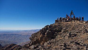 Family Mount Toubkal Climb