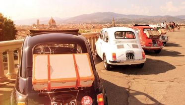 Fiat 500 Vintage Tour - Florence Panoramic Tour From Pisa