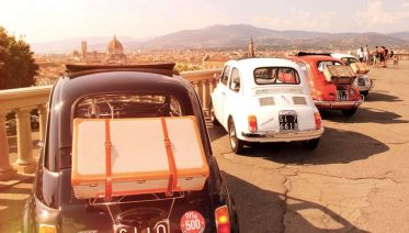 Fiat 500 Vintage Tour - Florence Panoramic Tour