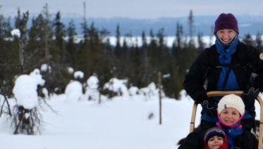 Finnish Winter Adventure Family Holiday