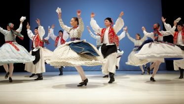 Folklore Performances In Budapest