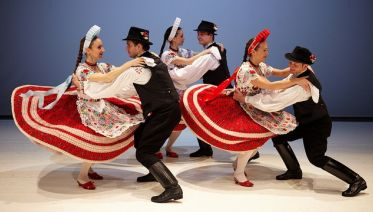 Folklore Show In Szechenyi Hall