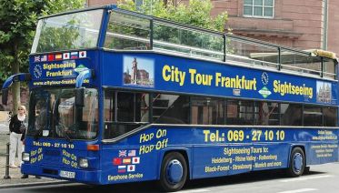 Frankfurt Hop on Hop off Tour