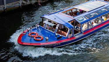 From Amsterdam: Zaanse Schans windmills + Canal Cruise