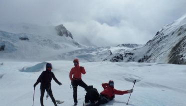From El Chalten: Full-Day Cagliero Glacier Ice Tre