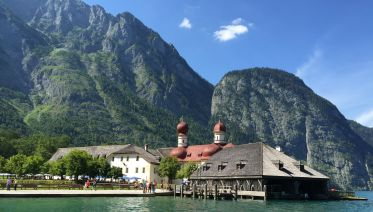 From Lake Koenigssee to Lake Chiemsee