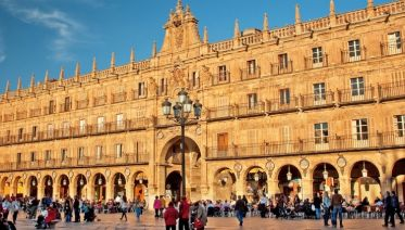 From Portugal to Spain: Porto, the Douro Valley (Portugal) and Salamanca (Spain) (port-to-port cruise)