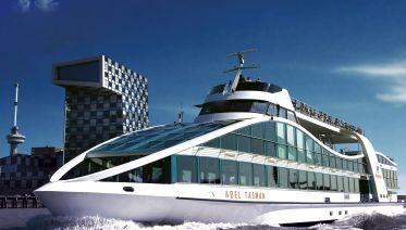 From Rotterdam: Keukenhof, Harbor Cruise & Euromast