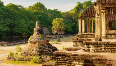 From the Angkor Temples to the Mekong Delta (port-to-port cruise)