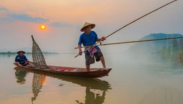 From the Temples of Angkor to the Mekong Delta & Hanoi and Halong Bay (port-to-port cruise)