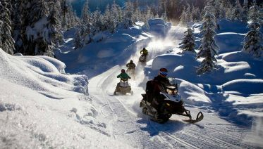 Full-day Snowmobile Trip in Rovaniemi