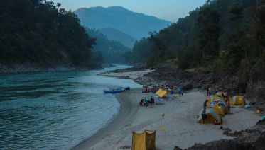 Full-Day Whitewater Rafting in Trisuli