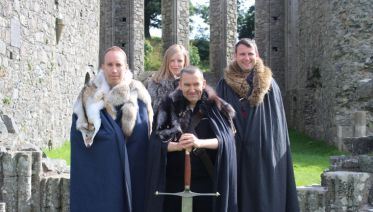 Game Of Thrones Tour With Castle Ward And Direwolves