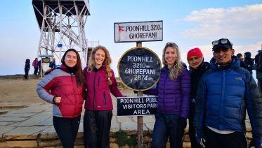 Ghorepani Poon hill Trek 5 days