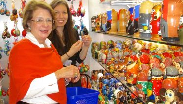 Gifts or Fashion Shopping with a Local in St. Petersburg