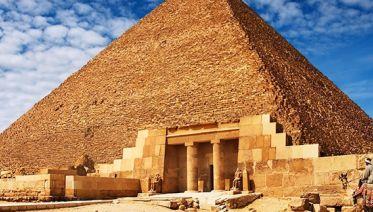 Giza Pyramids, Sphinx & Egyptian Museum