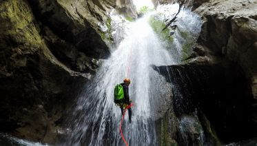 Gods of Olympus Canyoning Tour