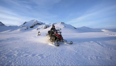 Golden Circle Tour & Snowmobile Ride on Langjokull