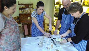 Greek Cooking Lesson with Athens Market Tour
