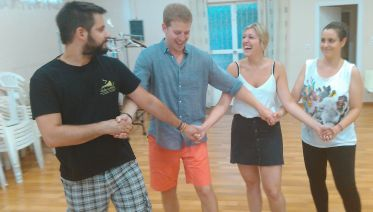 Greek Dance Lesson with Traditional Dinner