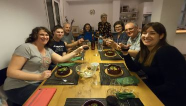 Greek Hands-On Cooking Lesson with Athens Market Tour