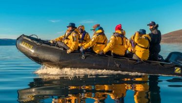 Greenland Adventure by Sea, Land & Air