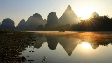 Guilin Li River Cruise and Yangshuo Bus Tour