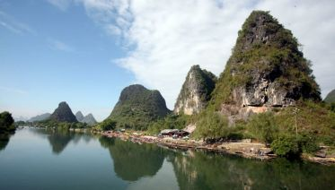 Guilin Li River Cruise and Yangshuo Countryside Day Tour