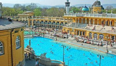 Gundel Gourment Menu  Plus Szechenyi Spa Entry