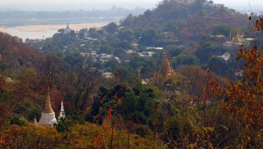 Half Day Meditation At Sagaing Hill