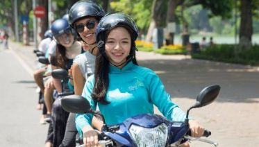Hanoi Motorbike Tour In The Morning