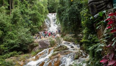 Hiking And Bicycling Around Da Lat, The City Of Flowers