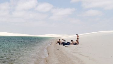 Hiking the Dunes of Lencois Maranhenses Park