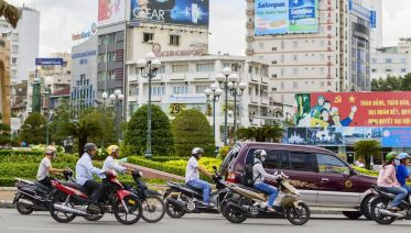 Ho Chi Minh City 4-Hour Motorbike Tour