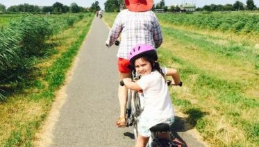Holland Family Barge & Bike