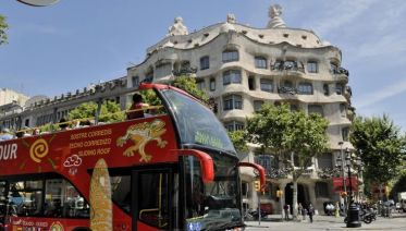 Hop-On Hop-Off Barcelona City Tour