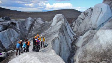 Ice Climbing Skaftafell