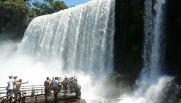 Iguazu Falls Day Trip from Buenos Aires with Airfa