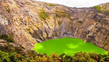 Irazu Volcano National Park and Cartago City Highlights