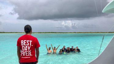 Isla Mujeres Snorkel Voyage Under the Sea