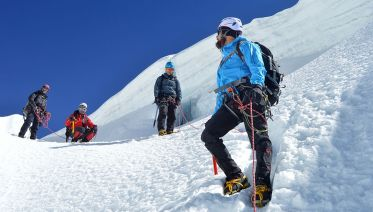 Island Peak Climbing + Everest 3 High Passes Trek