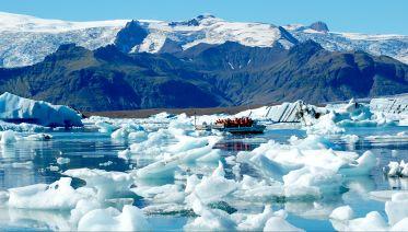 Jokulsarlon Glacial Lagoon & Boat Tour